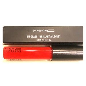 M.A.C Lipglass Russian Red